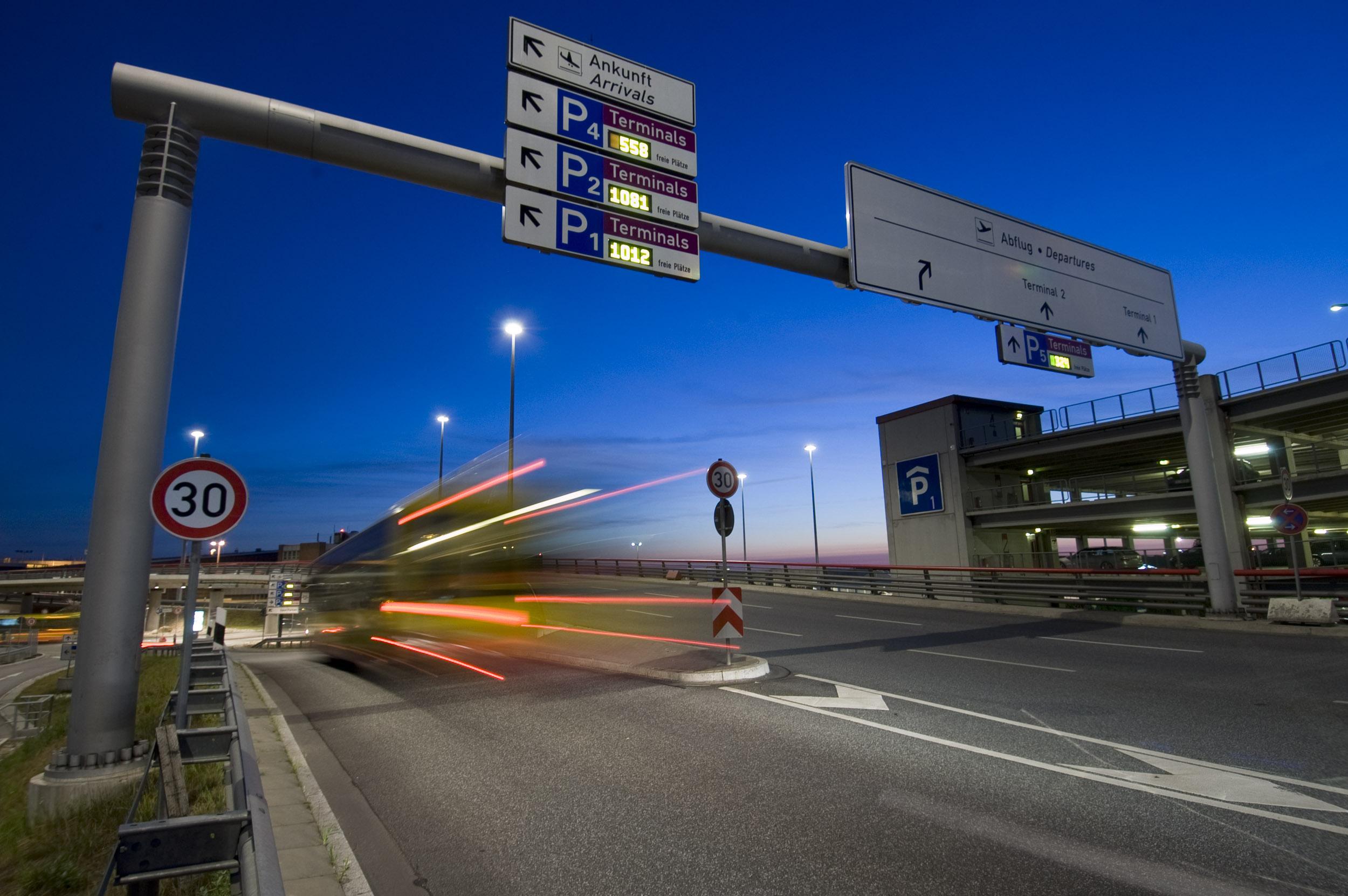 Schilderbrücke, Foto für Agentur